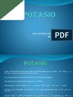 Alteraciones del Potasio