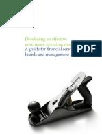 Dttl Fsi US FSI Developinganeffectivegovernance 031913