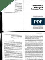 Capítulo 3 _O Processamento de Informação Como Programa de Pesquisa - UNI3
