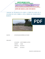 1. Informe de Cantera Escalinata La Punta