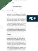 Considerações Acerca Dos Processos Psíquicos Do Luto - Artigo Científico