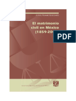El Matromonio Civil en Mexico