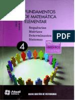 4. Sequências, Matrizes, Determinantes e Sistemas