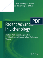 Dalip Kumar Upreti, Pradeep K. Divakar, Vertika Shukla, Rajesh Bajpai (Eds.)-Recent Advances in Lichenology_ Modern Methods and Approaches in Lichen Systematics and Culture Techniques, Volume 2-Spring
