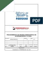18VP010-PRNES01-A Proc. de Prueba Hidrostatica - NESTLE