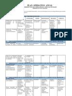Plan Operativo Anual Ciencias Sociales _2018-2019
