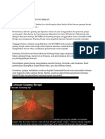 Mitigasi Bencana Gunung Berapi