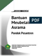 Juknis Bantuan Meubelair Asrama Pondok Pesantren 2018