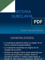 Arteria Subclavia