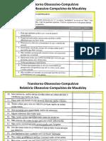 ferramentas para avaliação tcc transtornos
