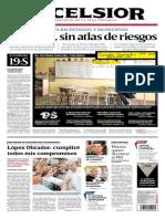 excelsior MIÉRCOLES 19 de sept 2018