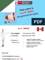 Ley de Salud 26842