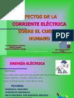 Efectos de la Corriente Electrica sobre el Cuerpo Humano- Mario Roberto Sanchez.ppt