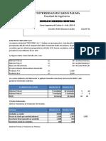 CASOS Nº 1 Casos Integral de Presupuesto Maestro I