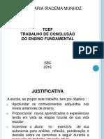 APRESENTAÇÃO POWER POINT TRABALHO DE CONCLUSAO DE CURSO