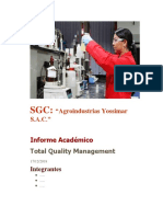 Modelo de Informe Integral Total Quality