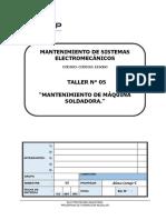 T-05 Mantenimiento de Máquina Soldadora.pdf