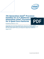 7th Gen Core Family Mobile u y Processor Lines Datasheet Vol 1