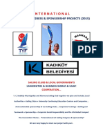 International 1. Sailing Congress & Sponsorship Projects 2015