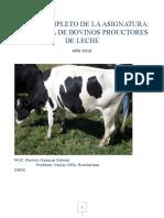 Curso Completo de Zootecnia de Bovinos Productores de Leche 1