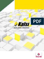 Kalsi Building Boards Brochure