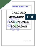 Calculo Soldadura