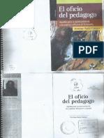 Libro El Oficio Del Pedagogo Bazan-Campos.pdf