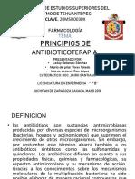 Tema 1 Principios de Antibioticoterapia
