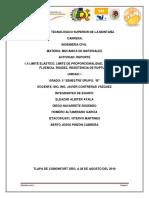 Reporte de Xpo Unidad 1 Mecanica Materiales