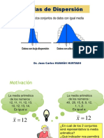 Medidas Dispersion