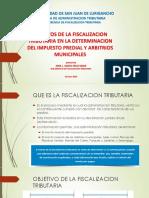 FISCALIZACION TRIBUTARIA 2016