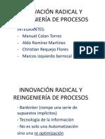 Innovación Radical y r