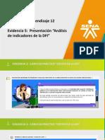 Análisis de indicadores de la DFI