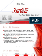 The New Coke Case Study