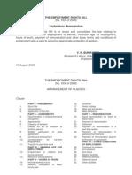 Employment Bill 2008
