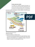 Principales Usos Del Agua en El Perú
