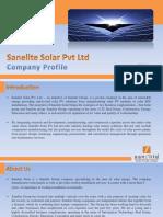 Sanelite Solar Pvt Ltd