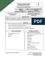 Reporte_Memoria R-S y Arreglo de 10 Relevadores Aplicando Arreglo de Memoria R-S.