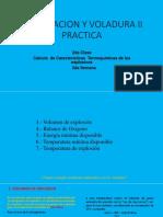 2da Clase Voladura 2 Practica