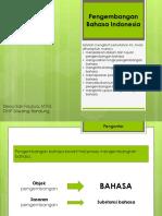 6. Pengembangan Bahasa