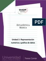 Unidad 2. Representacion num�rica y grafica de datos