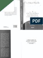 Ana Paula de Barcellos - a Eficácia Jurídica Dos Princípios Constitucionais - 2011