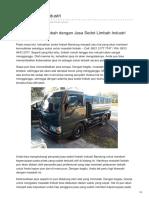 Sedot Limbah Industri Bandung