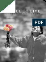 A Call to Live:a Lenten Bible Study