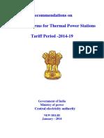 Cerc Guidelines of Aux Power Consumption