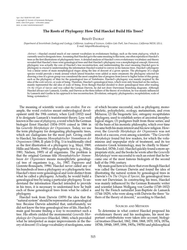 Haeckel Monism And The Birth Of Fascist Ideology Pdf