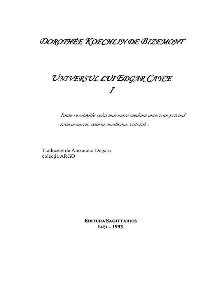 Docgonet Universul Lui Edgar Cayce Vol 1pdf