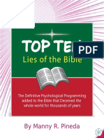 Top Ten Lies of the Bible by Manny R. Pineda