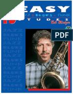 15 Easy Jazz, Blues and Funk Etudes