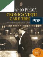 Cronica Vietii Care Trece - Fernando Pessoa